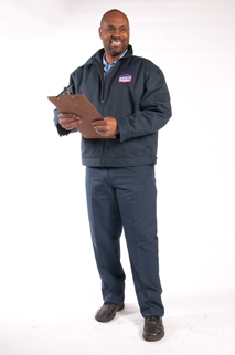 Image of smiling AAMCO Mechanic with Clipboard